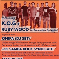 Nubiyan Twist feat KOG and Ruby Wood (of Submotion Orchestra